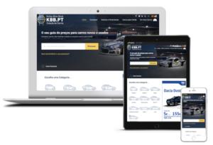 KBB.PT Homepage Multi-device
