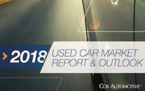 Cox Automotive 2018 Used Car Market Report Outlook Forecast Higher