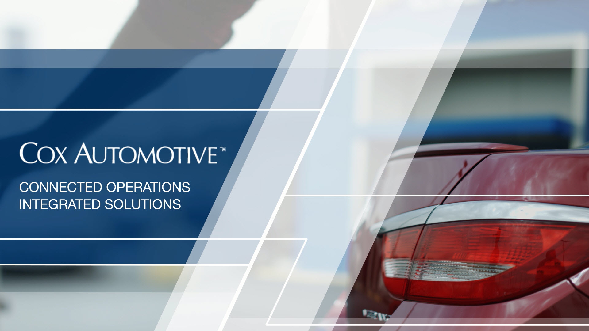 Cox automotive connected operations integrated solutions