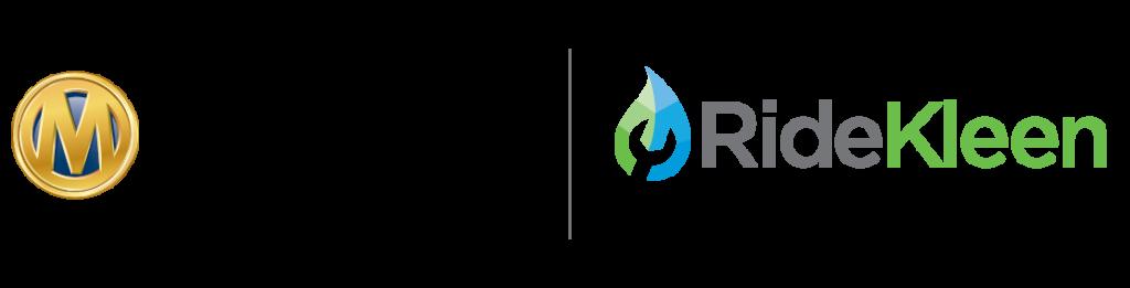 Manheim ridekleen logo lockup