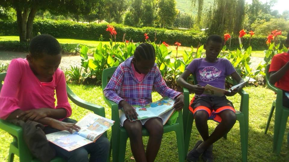 School kids africa