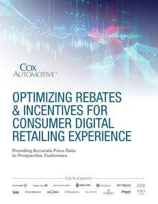 White paper cover optimize rebates & incentives for digital retail