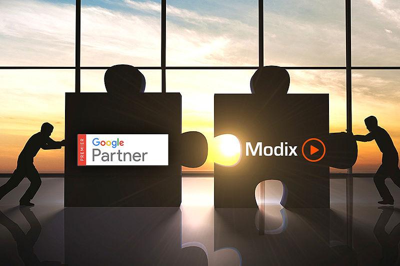 Modix UK google partnership