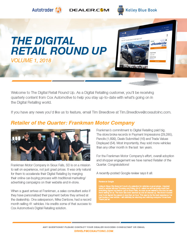 The digital retail round up issue 1 1
