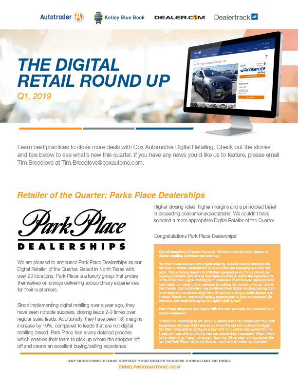 The digital retail round up issue 3 1